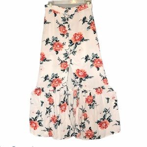 American Eagle Outfitters floral maxi skirt